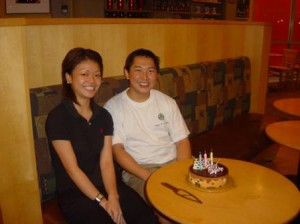 With Assistant Store Manager, Jialin